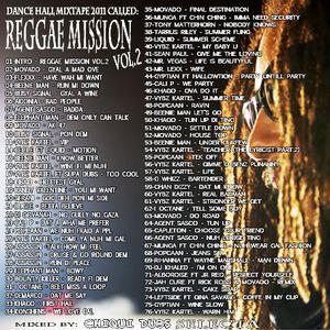 REGGAE MISSION Vol.2 by DJ CHIQUI DUBS (Dance Hall Mixtape 2011)