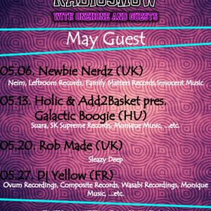 HTF010 - Guest Mix with Holic & Add2Basket pres. Galactic Boogie (HU)