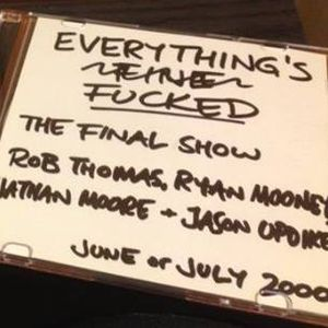 Rob, Ryan, Nathan and Jason in the final ever show