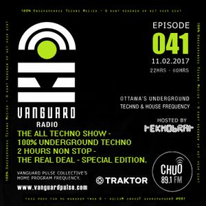 VANGUARD RADIO Episode 041 with TEKNOBRAT - 2017-02-11th CHUO 89.1 FM Ottawa, CANADA