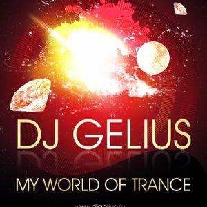 DJ GELIUS - My World of Trance #338 (22.02.2015) MWOT 338