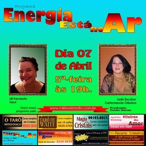 Programa Energia Esta No Ar 07/04/2016 - Jade Escobar e Lili Percinoto