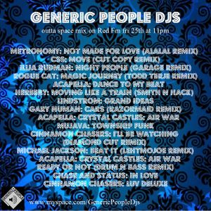 KC's RED fm selection wt Generic People DJs 25/9/9