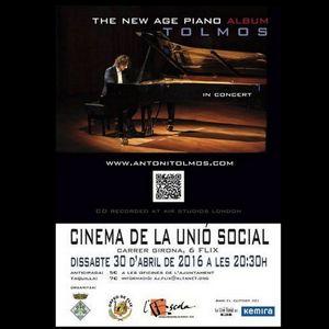 Concert d'Antoni Tolmos a Flix