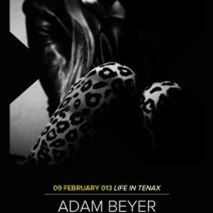 Adam Beyer - Live @ Nobody's Perfect,Tenax Club, Itália (09.02.2013)