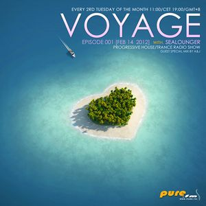 Sealounger - Voyage 001 [Feb 14 2012] on Pure.FM (Mix by DJ-SEVEN & Andy 14)