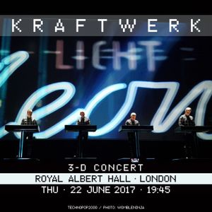 Kraftwerk - Royal Albert Hall, London, 2017-06-22