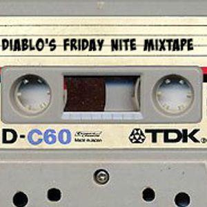 "Diablo's ""Friday Nite Mixtape""  Episode 1 on Crackers Radio Feb 13th 2015"