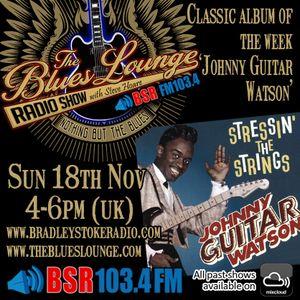 The Blues Lounge Radio Show 18 Nov 2018 Feat Johnny Guitar