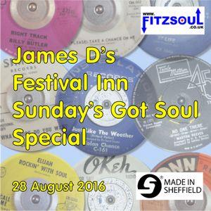 James D's Fitzsoul Festival Inn Soul On Sunday Special August 2016