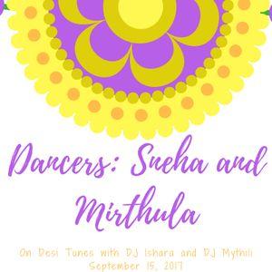 September 15, 2017 - Dancers: Sneha and Mirthula
