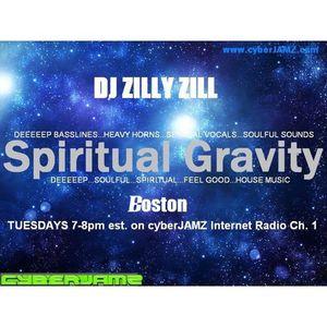 Spiritual Gravity Boston w/ DJ Zilly Zill presents FEEL GOOD CLASSICS live on cyberJAMZ 6/9/15