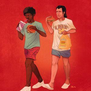 Le BIG ROYAL ( Cheese & Mac Mix )  by  DJ MANOO KARTER
