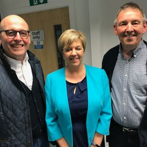 Breakfast with Keith and Ruth Bradshaw 2 May 2018 (guest Mick and Carole Titherington)