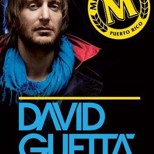 David Guetta @Cervecera of Puerto Rico Jan 29th (Promo Mix)