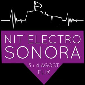 L'HORA HAC 544 - Nit Electro Sonora al Castell de Flix, amb Joan Bagés (26.7.13)