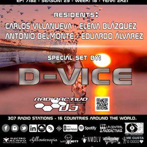 RADIOACTIVO DJ 18-2021 BY CARLOS VILLANUEVA