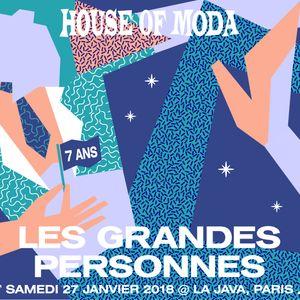 Crame - House of Moda Les Grandes Personnes - Extrait