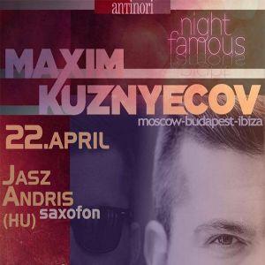 Maxim Kuznyecov - Live @ Antinori Bar, Bratislava (2016-04-22)