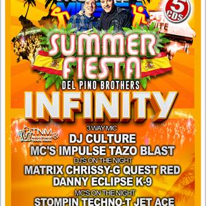 monta musica summer fiesta 2016 - dj matrix mc stompin b2b mc techno t