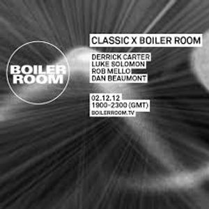 Derrick Carter 45 Min Mix - BOILER ROOM Dec 7, 2012