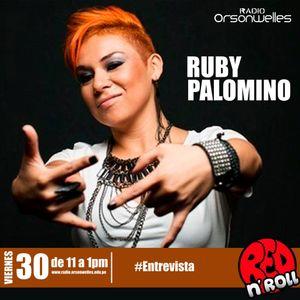 REDandROLL con Ruby Palomino