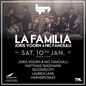 @laurenlanenyc Lauren Lane @ La Familia - BPM Festival 2015 10-01-15