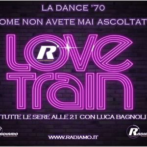"Radio Format ""LOVE TRAIN"" la dance 70' on web radiamo.it every friday  with Luca Bagnoli"