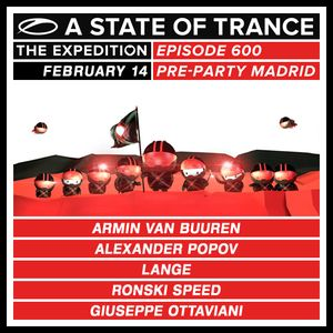 Armin Van Buuren - Live @ A State Of Trance 600 Madrid (Warm Up Set) [14.02.2013]