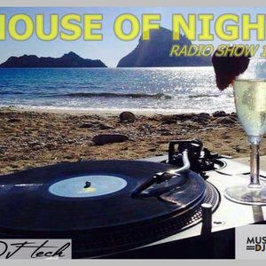 HOUSE OF NIGHT RADIO SHOW 144 MIXED BY DJ TECH