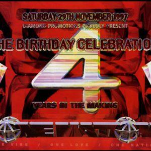 Mickey Finn w. Stevie Hyper D, Fearless, Skiba, Five-O, Det, Shabba @ One Nation 4th Birthday - 1997