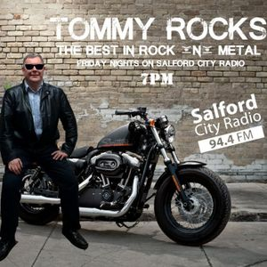 Guesthosting Tommy Rocks March 17,17 on @SalfordCRadio