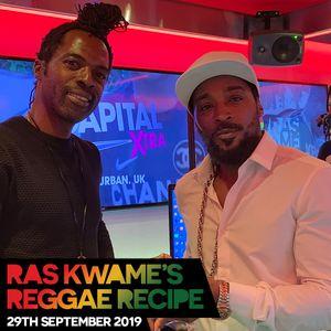 Reggae Recipe - 29/09/19 (Reggae / Dancehall / Bass / Bashment / Afrobeats)