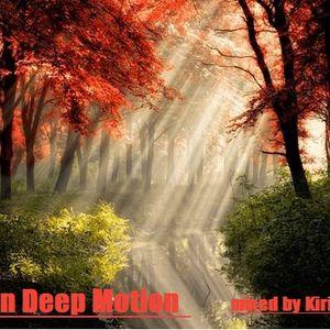 Kirill Pchelin - Autumns Deep Motion 2011(last year's autumn mix)