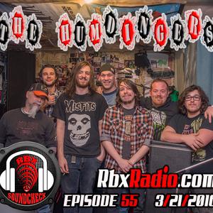 RBX Radio : Soundcheck Eps 055  The Humdingers  (3/21/2016)
