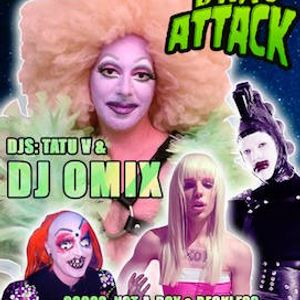 Drag Attack - Dj Omix live session Part 1 Enfrente Madrid 23-01-2016