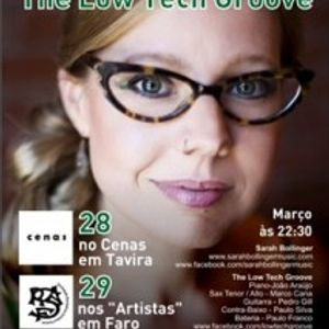 Entrevista Sarah Bollinger & The Low Tech Groove - 25Mar 2014