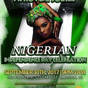 DJ Lyriks Live at Afrovibe Soiree Nigeria 57 Independence Day Party 9-30-17