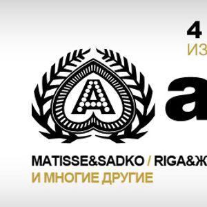 Matisse & Sadko - Live @ Izvestiya Hall Moscow (Russia) 2012.02.04.