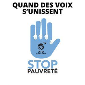 Refuser la misère au bistrot - Valéry BOHRER - ATD Quart Monde // au Greffier, 24 nov. 2017