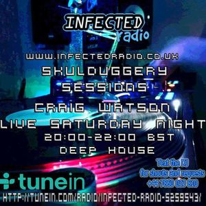 Skulduggery Sessions Live on Infected Radio 04.03.17