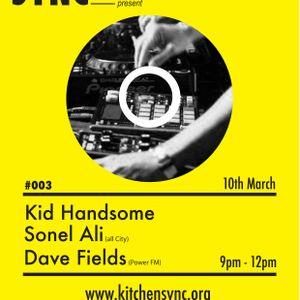 Dave Fields @ Kitchen Sync #003