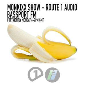 Monkixx Show - Bassport FM - 23rd Feb 2015