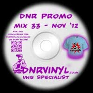 DNR VINYL MIX 33 - November 2012 Garage Mix