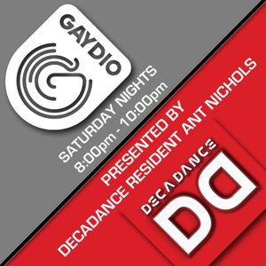 DECADANCE RADIO - SAT 19 JAN 2013