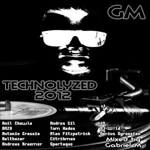 VA - Technolyzed 2012 mixed by Gabriel M (1 CD)