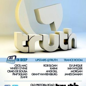 Unique Dj | Live in the Trance Room / Truth 11 Feb 2012