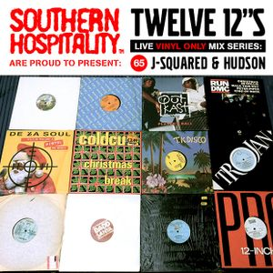 Twelve 12's Live Vinyl Mix: 65 - J-Squared & Hudson - Seasons Beatings Christmas Special!