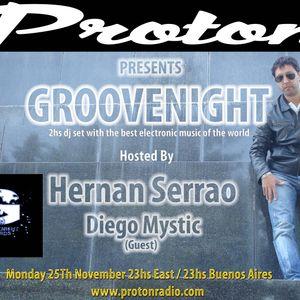 GROOVENIGHT EPISODE 011-2013 By Hernan Serrao