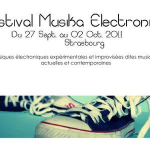 Insub Meta Orchestra  - live part 1 @Festival Musika Electronica Strasbourg 2011  10 02